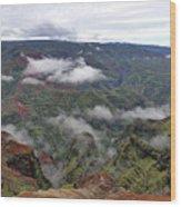 Kauai Hawaii Usa Wood Print