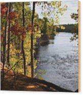 Kettle River Overlook Wood Print
