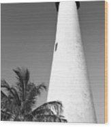 Key Biscayne Lighthouse Wood Print