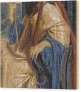 King Solomon Wood Print