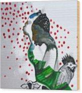 Kintu And Nambi Poster Wood Print