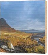 Kirkjufell. Wood Print