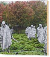 Korean War Wood Print