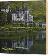 Kylemore Abbey Wood Print