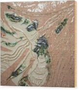 Lady - Tile Wood Print