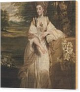 Lady Bampfylde Wood Print