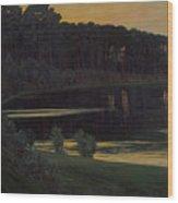 Lake Grunewald Wood Print