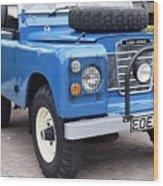 Land Rover Wood Print