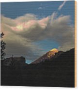 Lanin National Park Wood Print