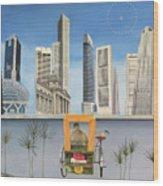 Last Dim Sum In Singapore Wood Print