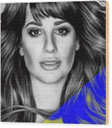 Lea Michele Collection Wood Print