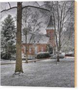 Lee Chapel Wood Print