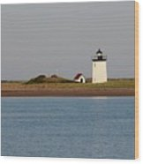 Lighthouse Provincetown  Wood Print