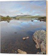 Loch Nah Achlaise Wood Print