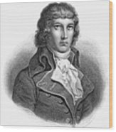Louis Saint-just (1767-1794) Wood Print