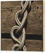 Love Knots Wood Print