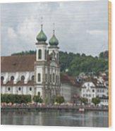 Lucerne Switzerland Wood Print