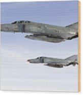 Luftwaffe F-4f Phantom II Wood Print