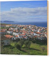 Maia - Azores Islands Wood Print by Gaspar Avila