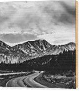 Mammoth Lakes Area Of California Wood Print