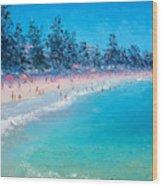 Manly Beach  Wood Print