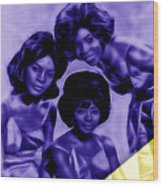 Martha And The Vandellas Collection Wood Print