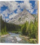 Marvel Lake Wood Print