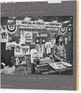 Merchandise George Mcgovern For President Democratic Nat'l Convention Miami Beach Florida 1972 Wood Print