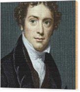 Michael Faraday, British Physicist Wood Print by Sheila Terry