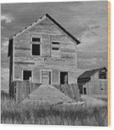 Montana Memories Wood Print