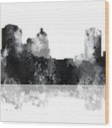 Montgomery Alabama Skyline Wood Print