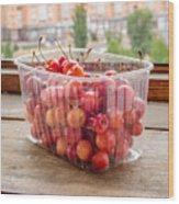 Morello Cherries Wood Print
