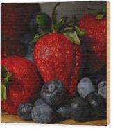 Morning Fruit Wood Print