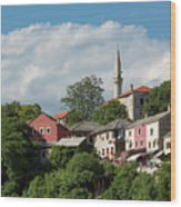 Mostar, Bosnia And Herzegovina Wood Print
