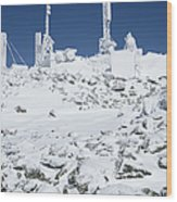 Mount Washington State Park - White Mountains New Hampshire Usa Wood Print