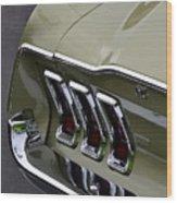 Mustang Fastback Wood Print