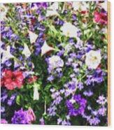 Myriad Colors Wood Print