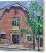 Nashville Shop IIi Wood Print