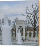 National World War II Memorial Wood Print