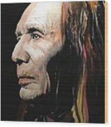 Native American Wood Print