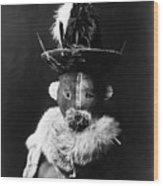 Navajo Mask, C1905 Wood Print