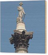 Nelsons Column Wood Print