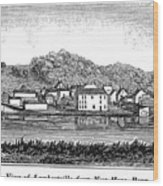 New Jersey, 1844 Wood Print