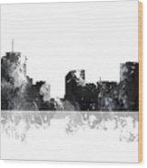 New Orleans Louisiana Skyline Wood Print