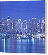 New York City Ny Wood Print