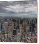 New York New York Wood Print