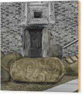 Newgrange Ireland Wood Print