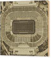 Notre Dame Stadium Wood Print