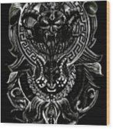 Off The Muun Wood Print