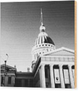 Old Courthouse Wood Print